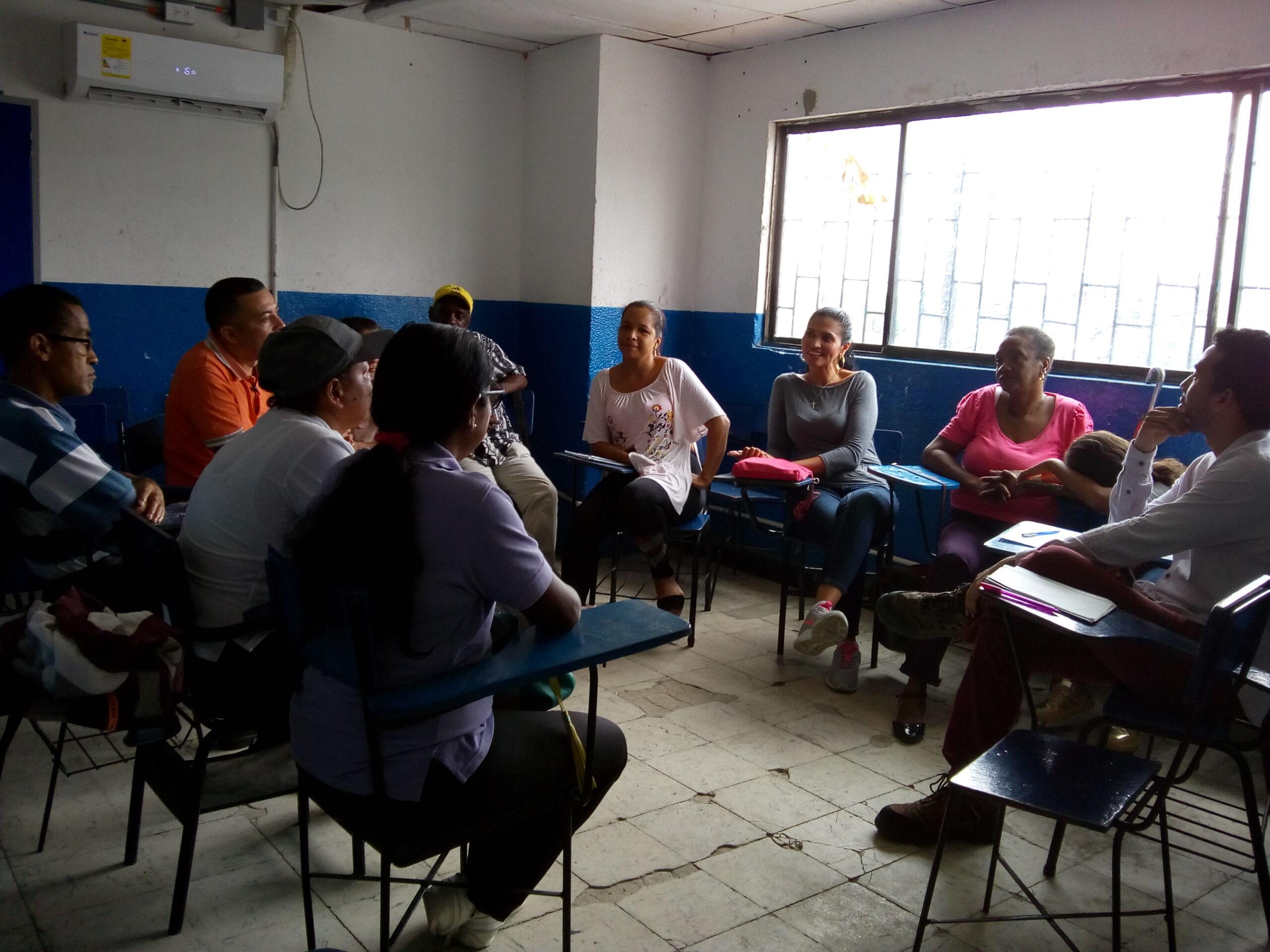 Taller vivencial participativo para el desarrollo de un modelo del riesgo comunitario.