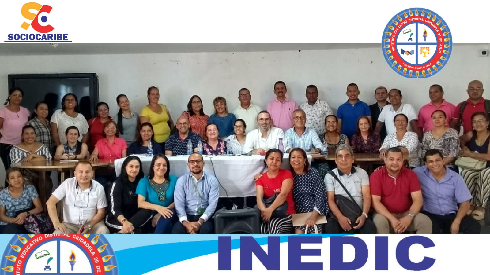 El INEDIC 20 de Julio renueva de manera exitosa el PEI  y pone en marcha una estrategia de mejora continua, con el acompañamiento de SOCIOCARIBE.