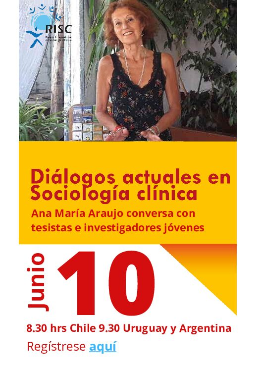 Inscripciones abiertas al gran evento: Diálogos actuales en Sociología Clínica con Ana María Araujo