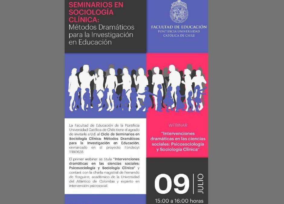 Radio-Foro en la Universidad Católica de Chile con Sociocaribe.