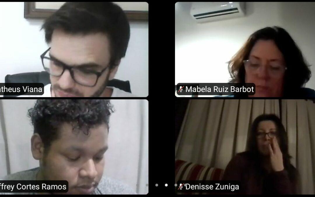 Sociocaribe realiza ponencia experiencial, dentro del campo educativo y salud, en el grupo de formación y educación en sociología clínica, nodo Sur RISC