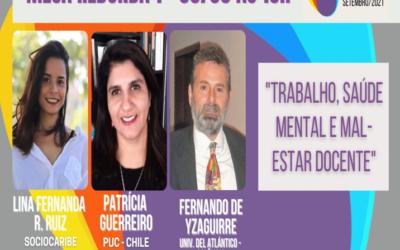 Sociocaribe participa en el III Encuentro del laboratorio institucional de subjetividad y trabajo: Escenarios latinoamericanos sobre el sufrimiento en el trabajo en un contexto pandémico y perspectivas postpandemias.